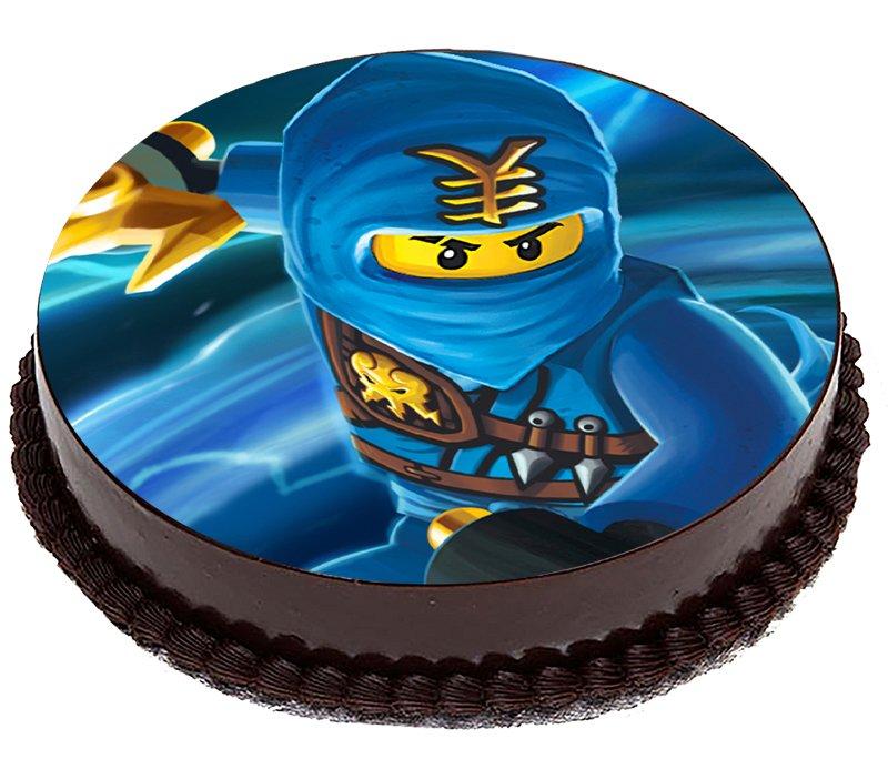 Торт ниндзяго с картинкой