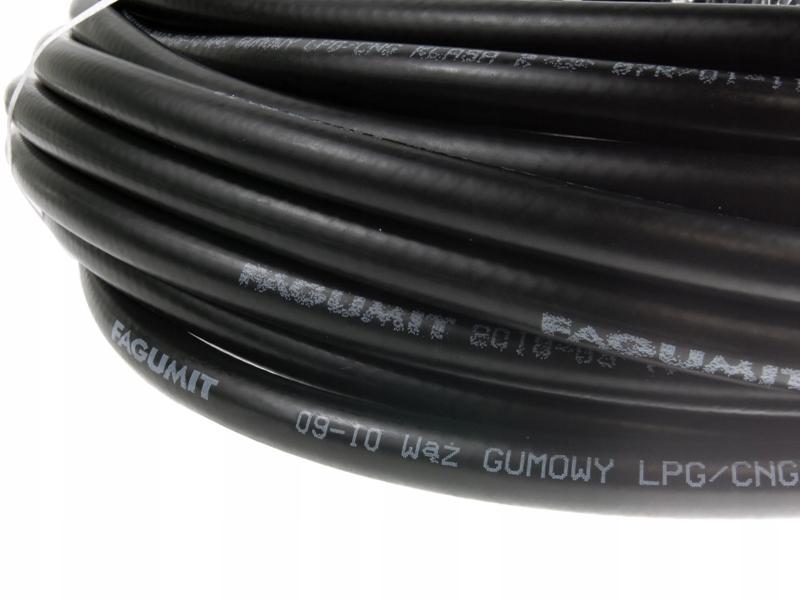 fagumit шланг резиновый кабель газовый снг 10mm fi10