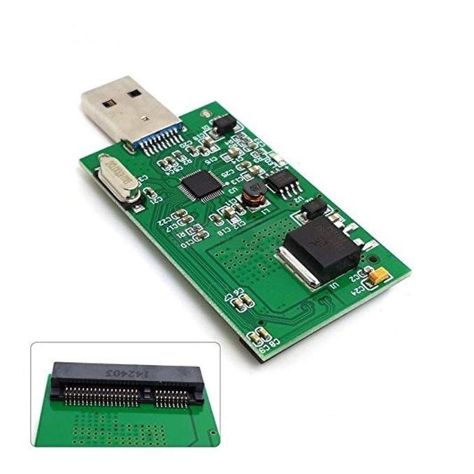 Адаптеры Mini PCI-E mSATA адаптер для USB 3.0