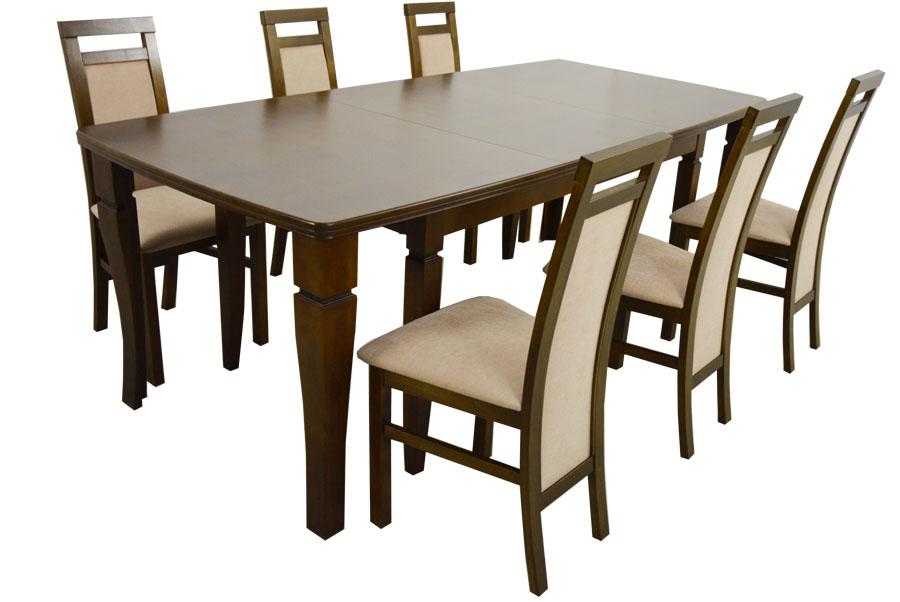 Купить Набор Деревянный Большой стол в 4м и 6 стульев на Otpravka - цены и фото - доставка из Польши и стран Европы в Украину.