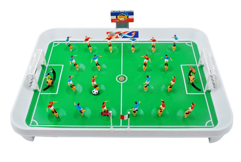 Piłkarzyki Mini Gra Stół Piłkarski 22 Piłkarzy XL
