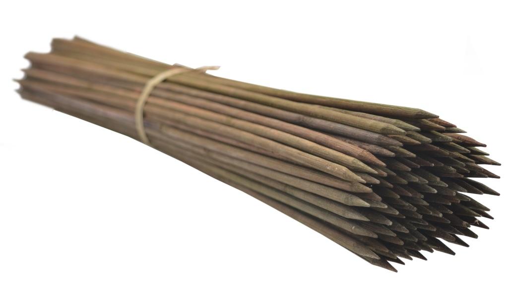 Gombíky bambusu 60 cm, 5,5 mm /2500szt/ bronz