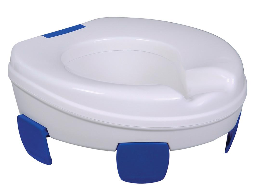 Toaletný viečko zvyšuje sedeky toaletné prekrytie