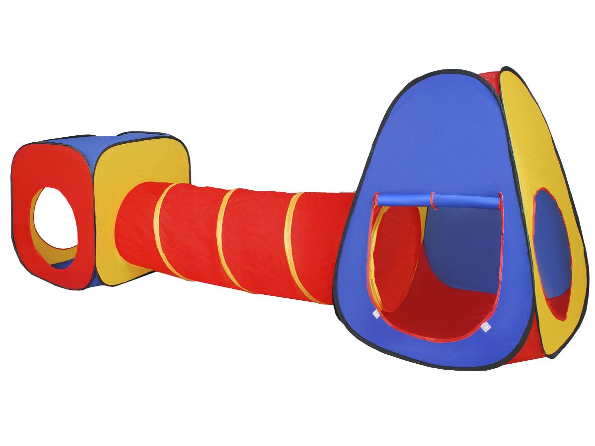 Садовая палатка туннельная ДОМЕК игло для детей 3в1