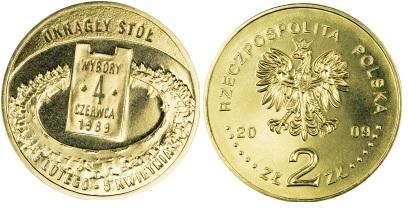 2 злотых (2009 г.) - Выборы 4 июня 1989 г. - Круглый стол