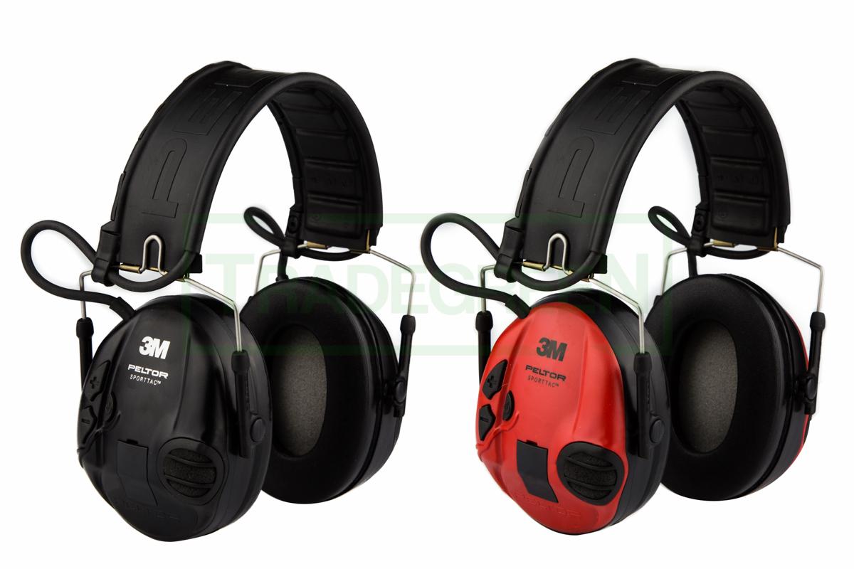 Aktívne chrániče sluchu 3M PELTOR SportTAC biela