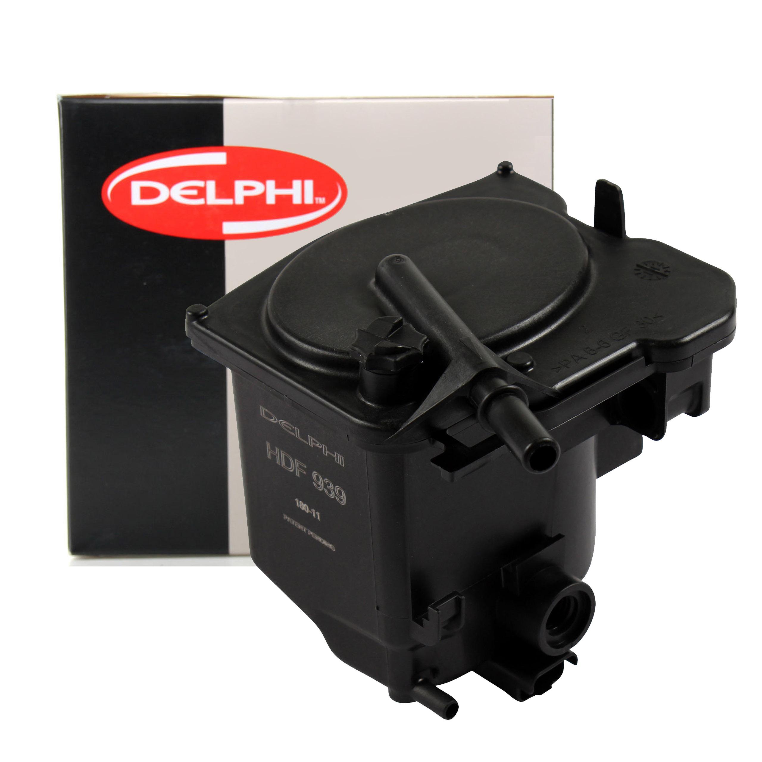 фильтр топлива delphi citroen c4 пикассо 16 hdi