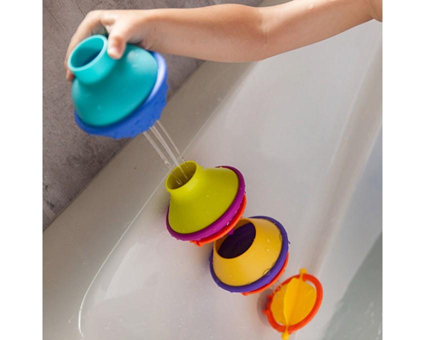 Hračka pre kúpeľ Kap kap poháre pre vodný mlyn