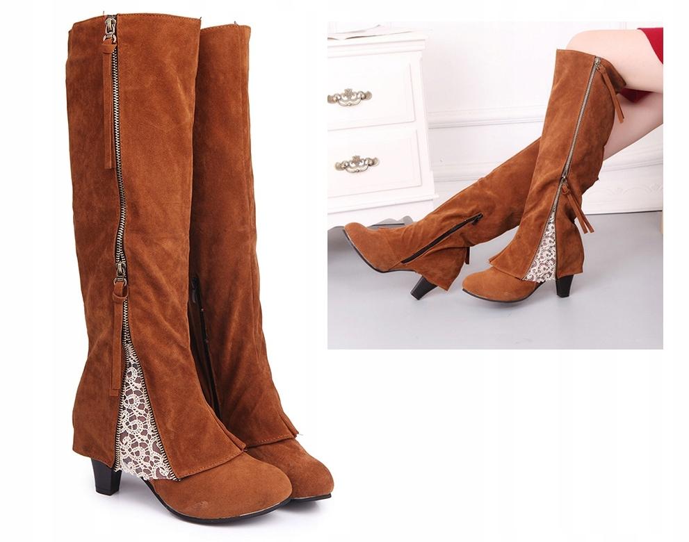 OBUV BT66 Retro VINTAGE topánky Cowboy CAMEL 41