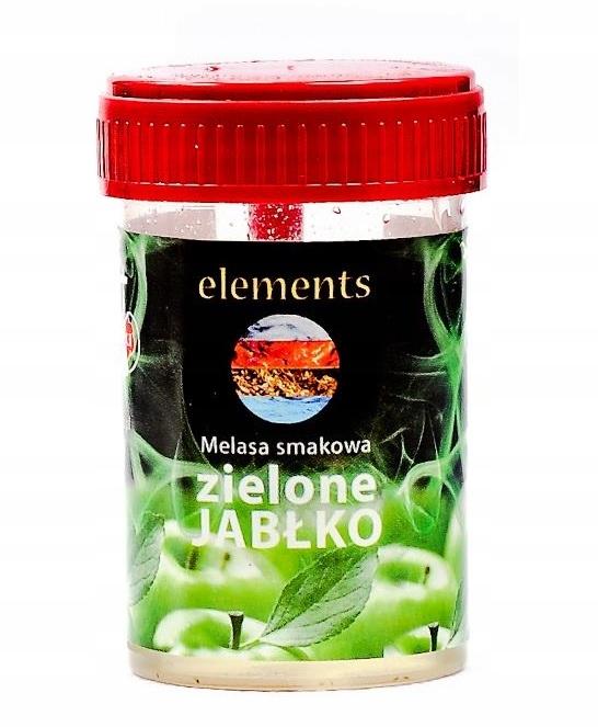 Патока Elements 30 мл Зеленое Яблоко Кальян курительная Трубка