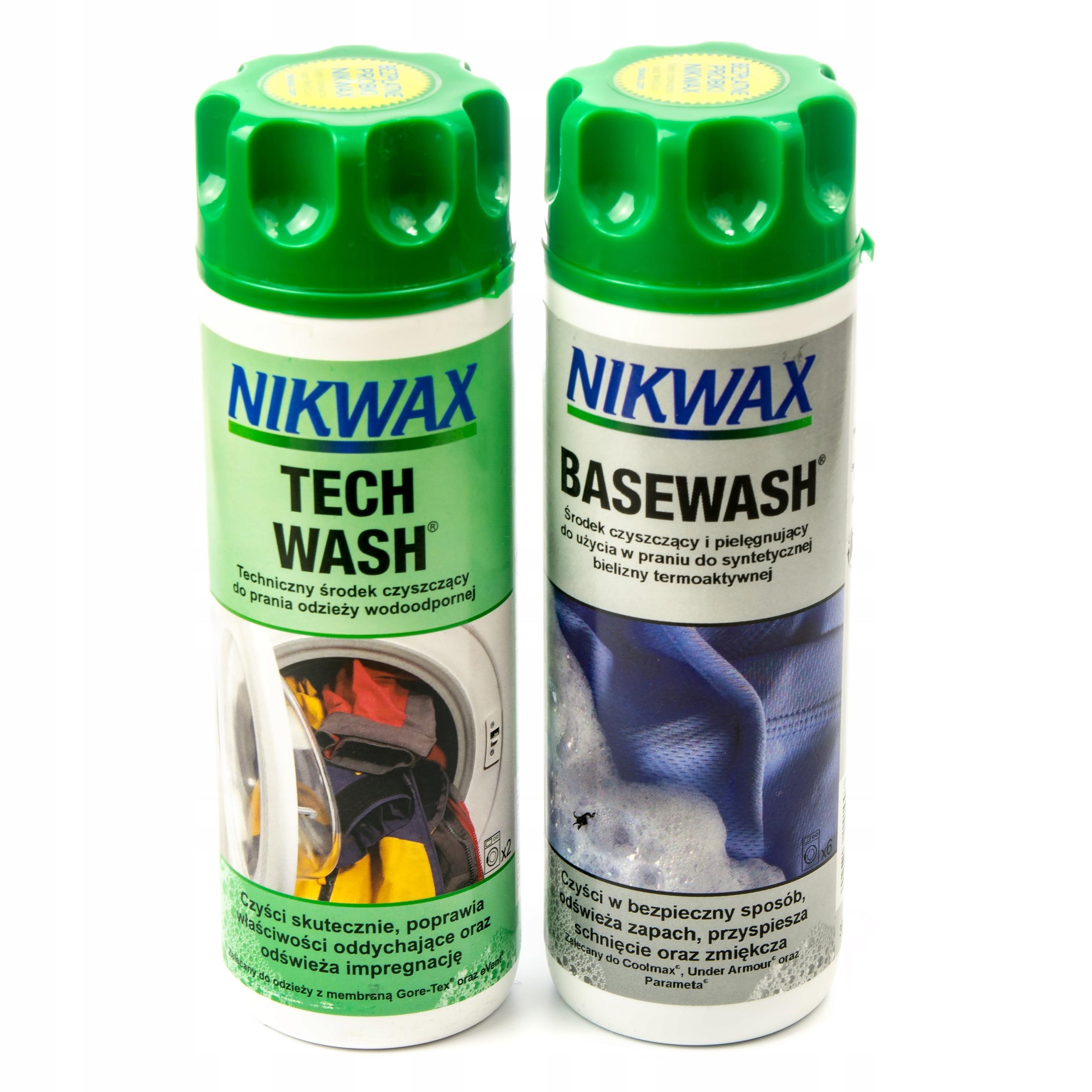 NIKWAX BASEWASH + TECHWASH - НАБОР ДЛЯ СТИРКИ TECH