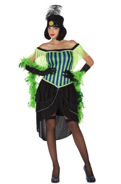 Kostým Tanečnica Kostým Retro Party Šaty XS-S