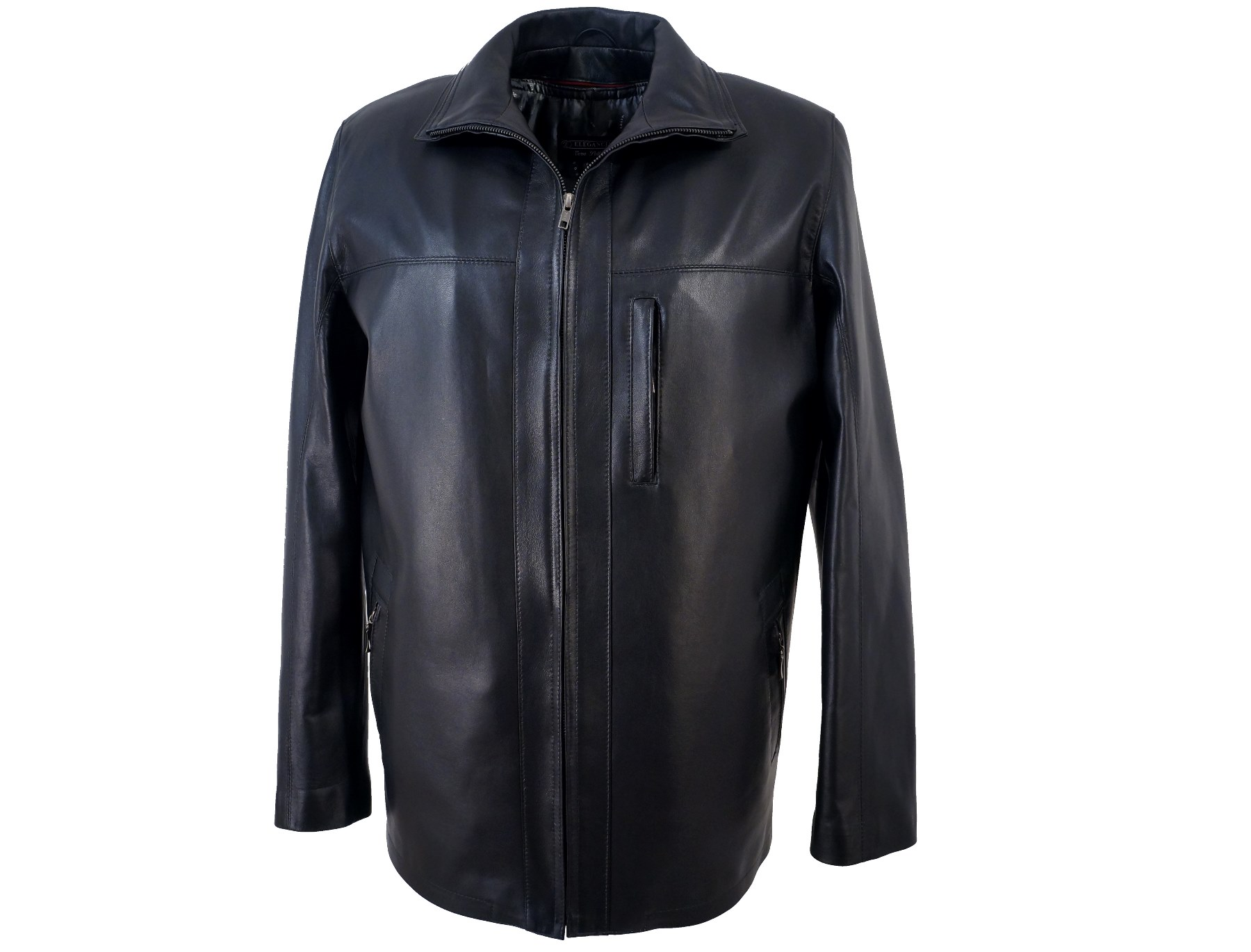 eleganckie kurtki skórzane