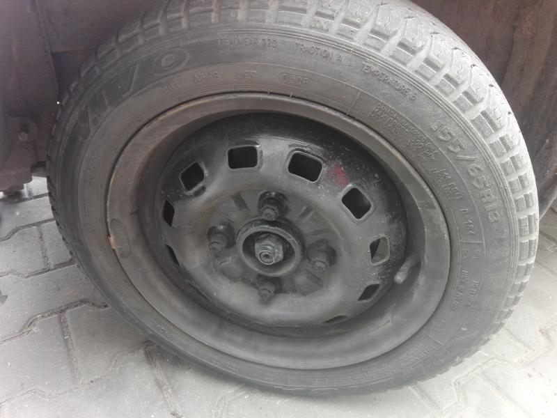 Koła Komplet Felgi Opony Daewoo Matiz Tico 13 7392990952