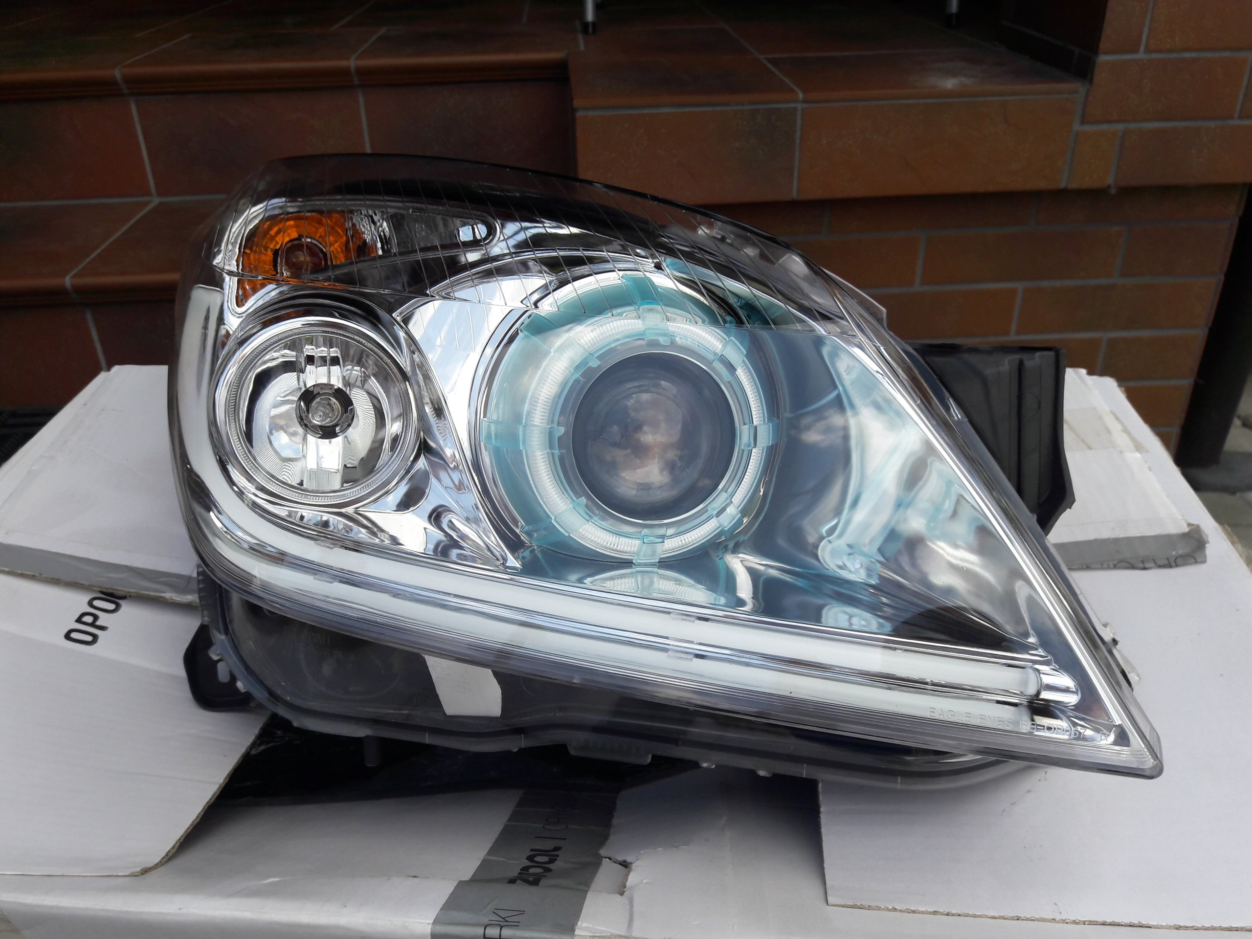 Lampy Przód Opel Astra Iii Xenon Led Pl 7459060997
