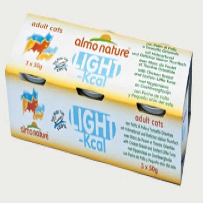 ALMO NATURE Light kurczak tuńczyk 2x(3x50g)