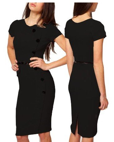 4812f0590b Koktajlowa Sukienka STUDNIÓWKA czarna SMLXL - 6646061613 - oficjalne ...