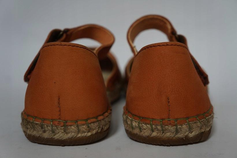 a70fee60 Buty EL NATURALISTA 37 skórzane sandały espadryle - 7448747362 - oficjalne  archiwum allegro