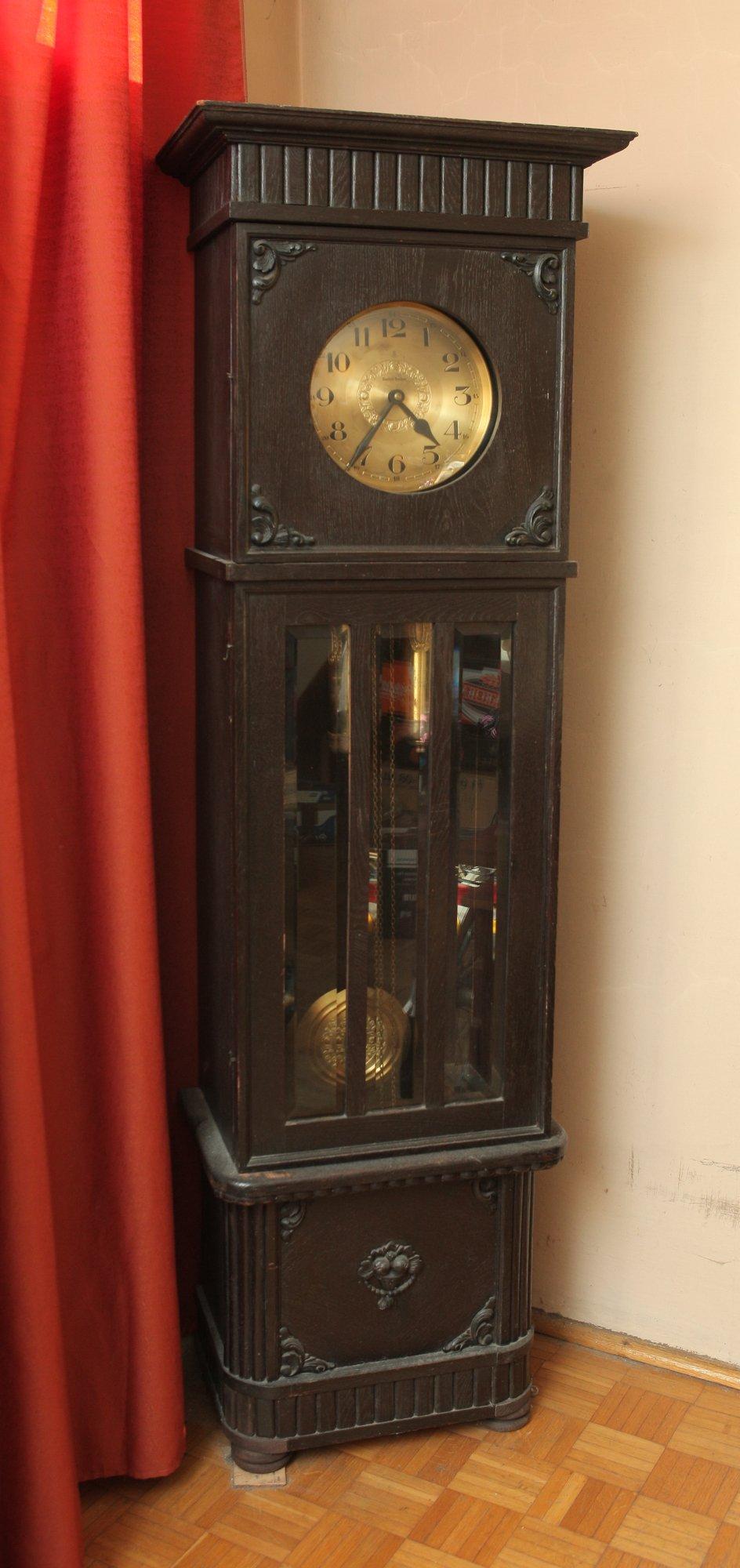 Zegar Stojący Gustav Becker Antyk 7206848075 Oficjalne