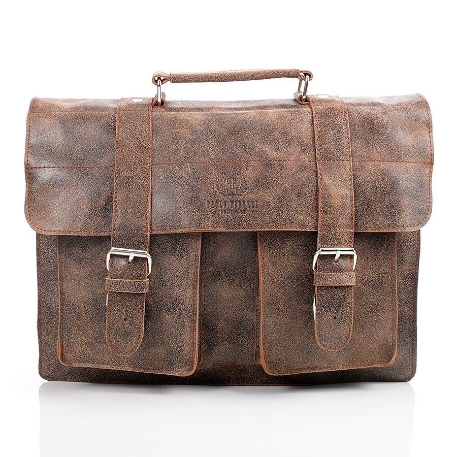 0415599968e7e8 Jasny brąz torba skórzana Paolo Peruzzi Vintage - 7436017268 ...
