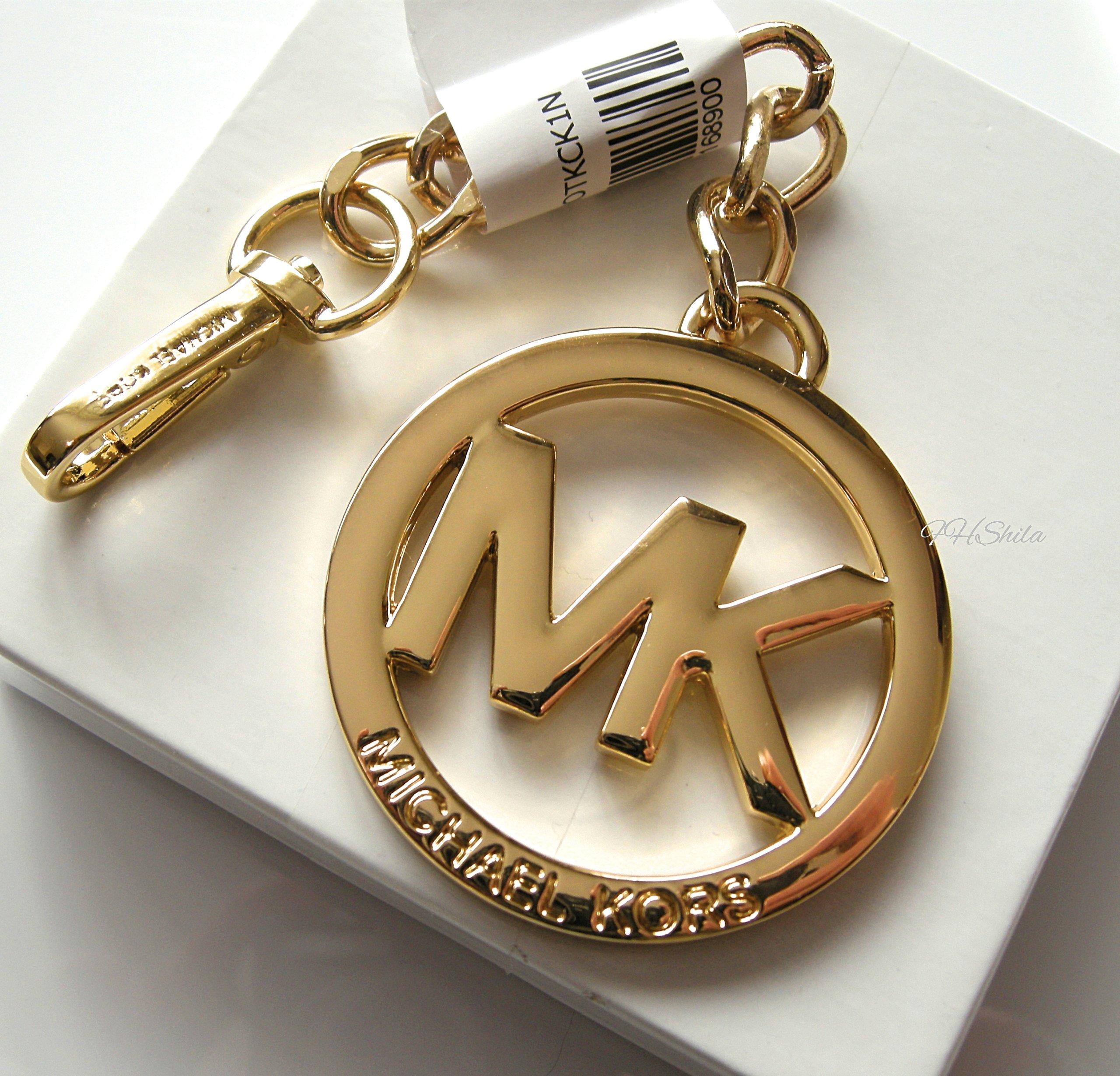 d7a8726b21e56 Michael Kors keychain pozłacany brelok - 7370455884 - oficjalne ...