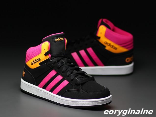 Buty damskie Adidas Hoops Light AW5092 Świecące 6849566418