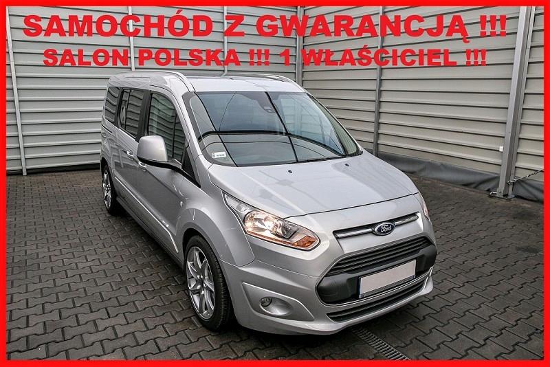 Ford Tourneo Connect Salon PL + 1 Właściciel + 100