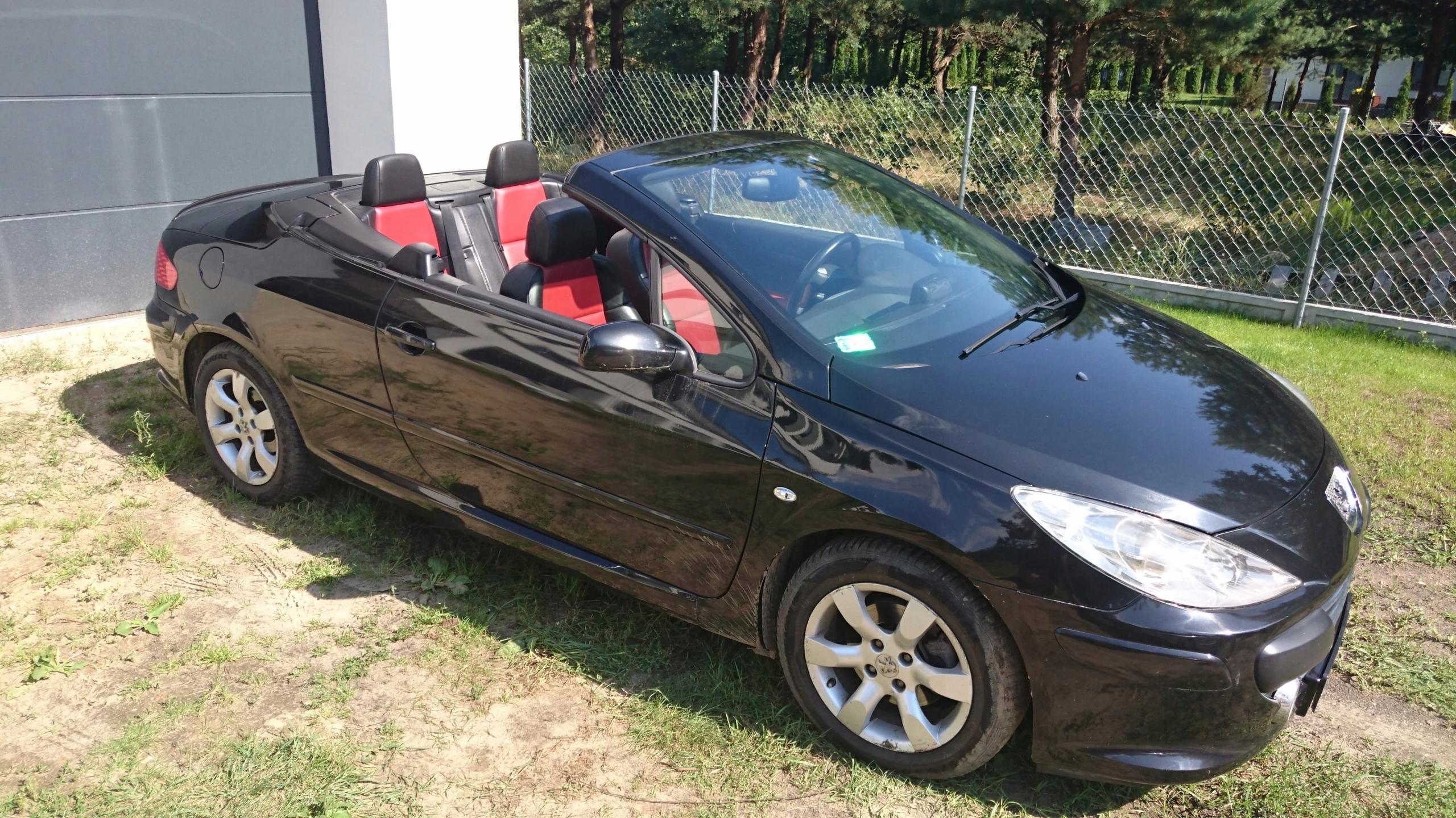 Peugeot 307 CC 2.0 benzyna + AUTOMAT