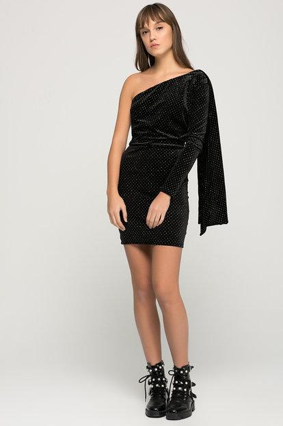 df90261bab Bershka Sukienka WIeczorowa Rozmiar XS - 7195783579 - oficjalne archiwum  allegro
