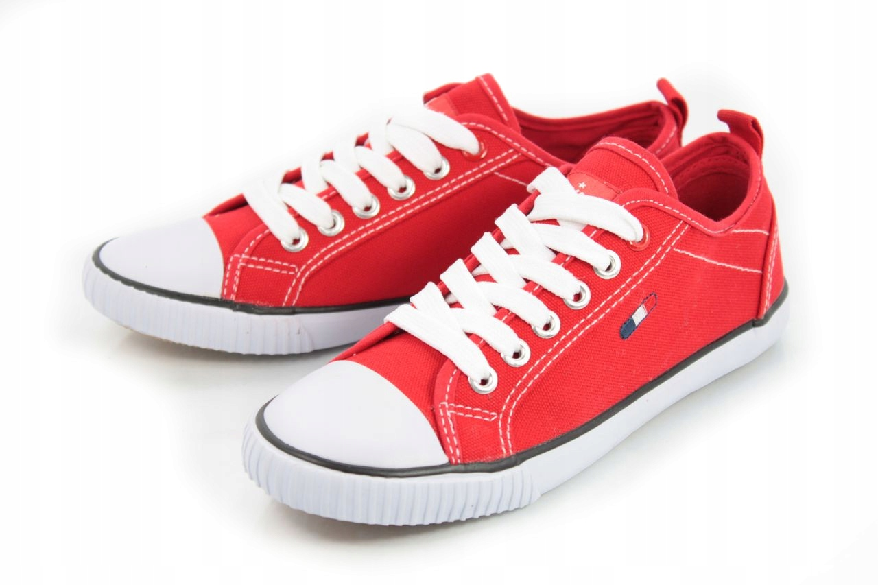 Tenisówki czerwone trampki AMERICAN LH 14 r.39 6867256898