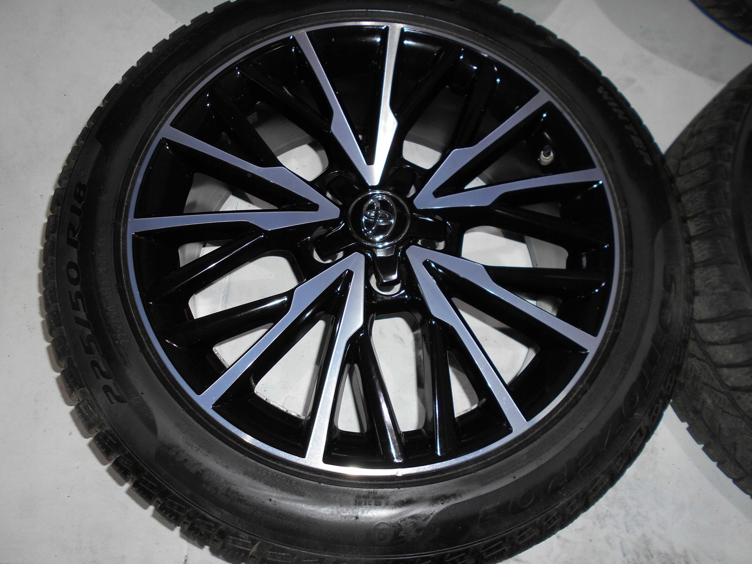 Toyota Chr C Hr Koła Opony Felgi R18x224x50 Zima 7404798282