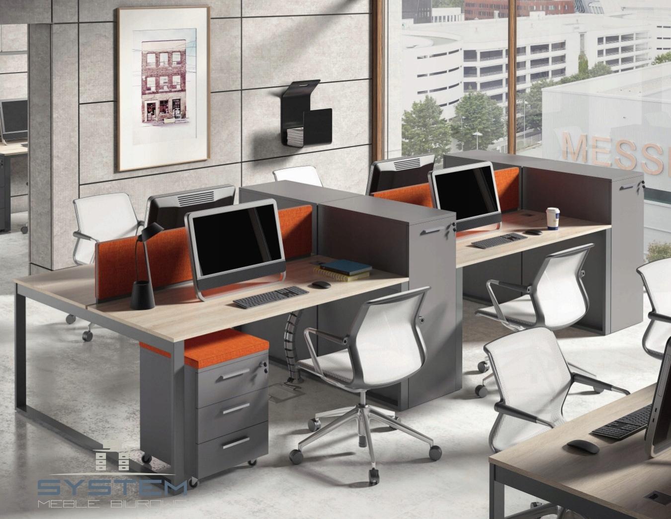 Wspaniały Meble biurowe 4 stanowiska pracy Intelli -15% - 7515092304 JH79