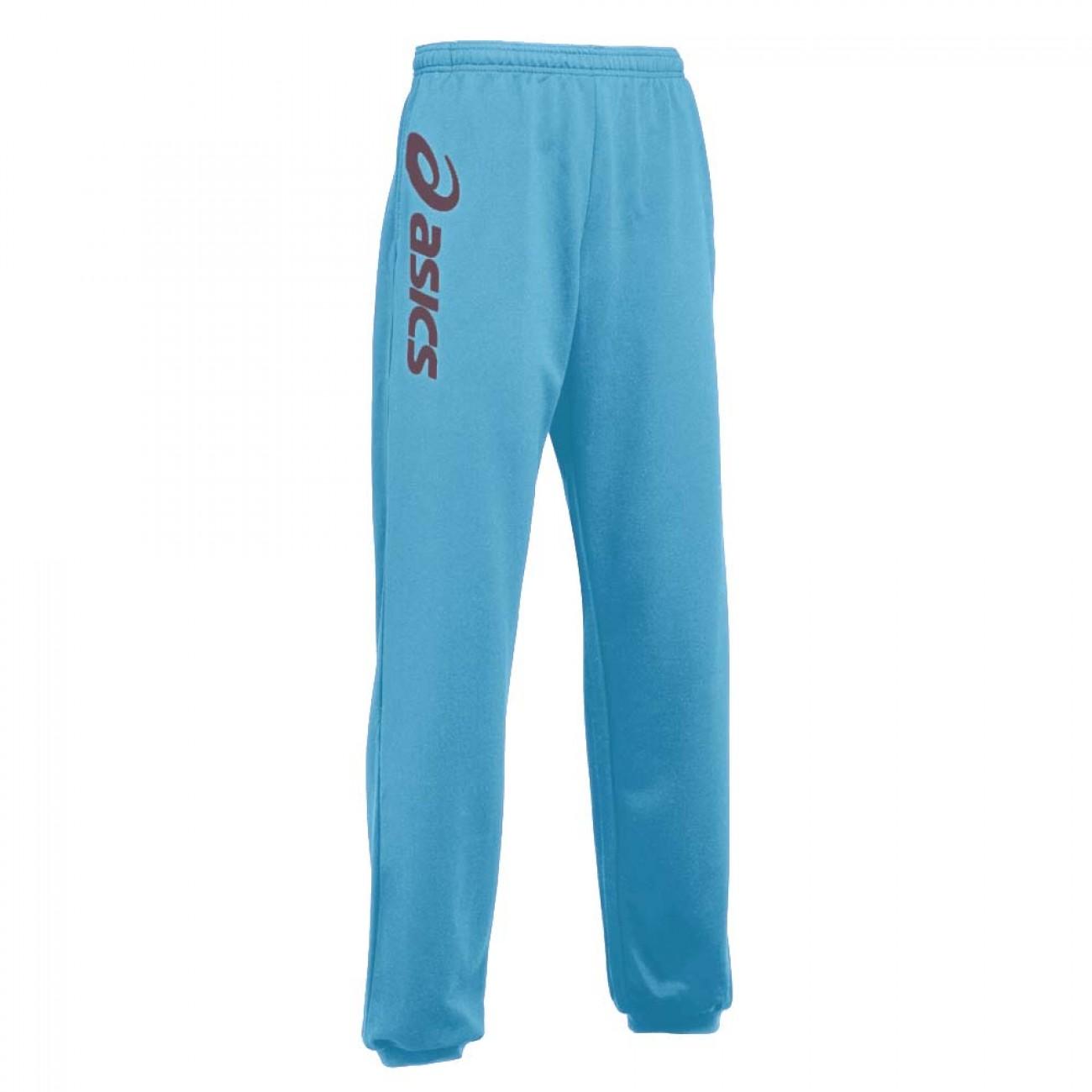 Asics Spodnie Męskie Dresowe Sportowe Niebieskie L