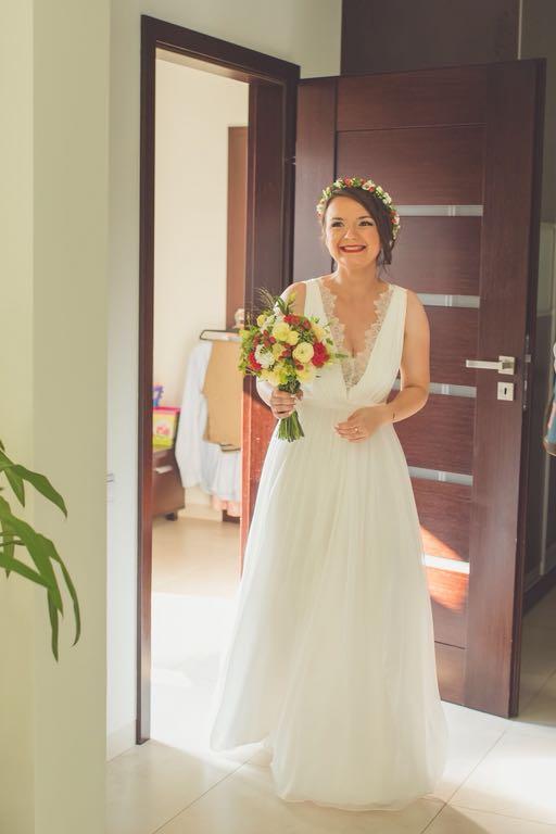 Suknia ślubna W Stylu Rustykalnym 7145502905 Oficjalne Archiwum