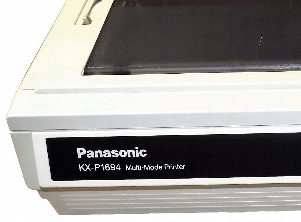 PANASONIC KX-P1694 PRINTER DRIVERS FOR WINDOWS VISTA