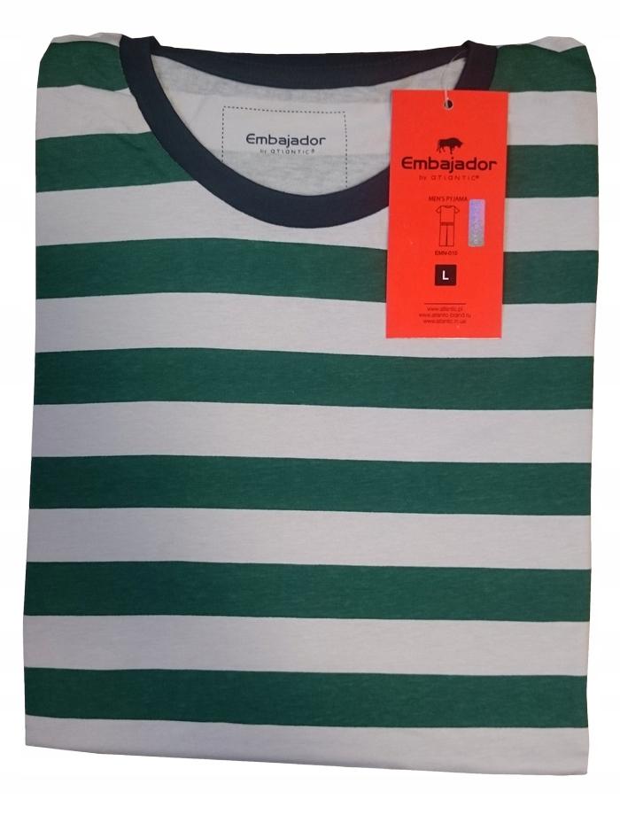 piżama ATLANTIC Embajador EMN 010 zielona L
