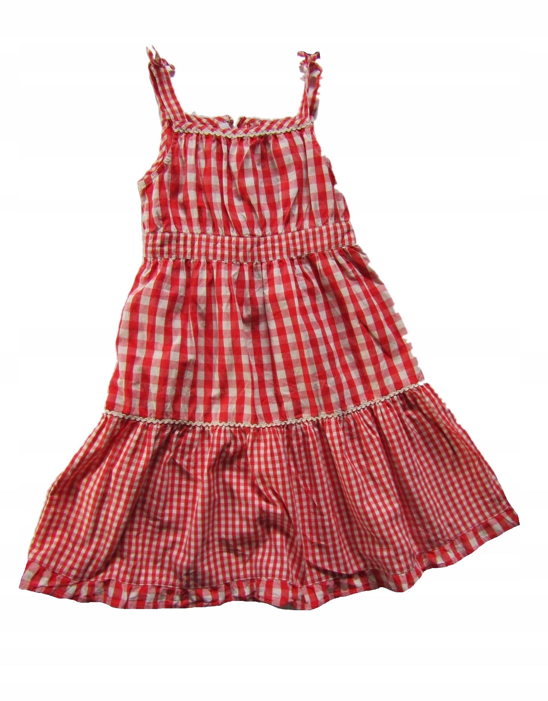672abde844 H M sukienka w kratę 128 cm 7 8 lat - 7475005898 - oficjalne ...