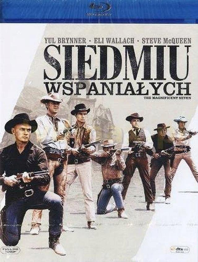SIEDMIU WSPANIAŁYCH (1960) - BLU-RAY