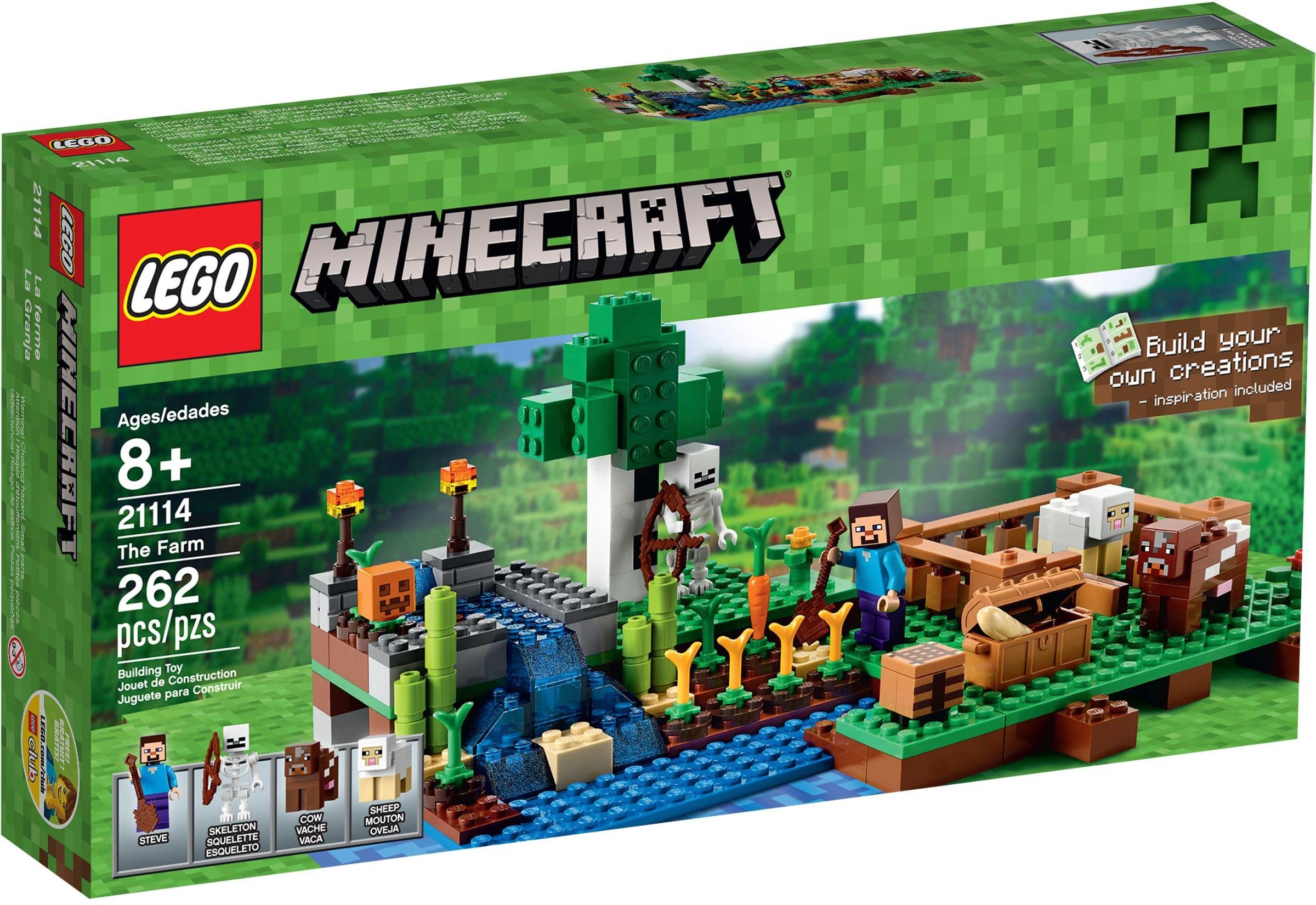 Lego Minecraft Farma 21114 7093535180 Oficjalne Archiwum Allegro