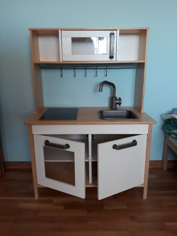 Duża Kuchnia Drewniana Dla Dziecka Duktig Ikea