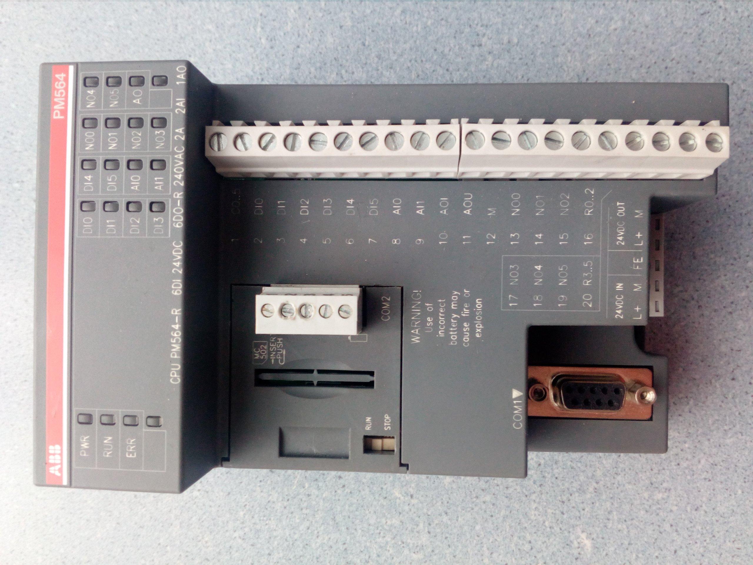 Sterownik PLC ABB CPU PM564-R