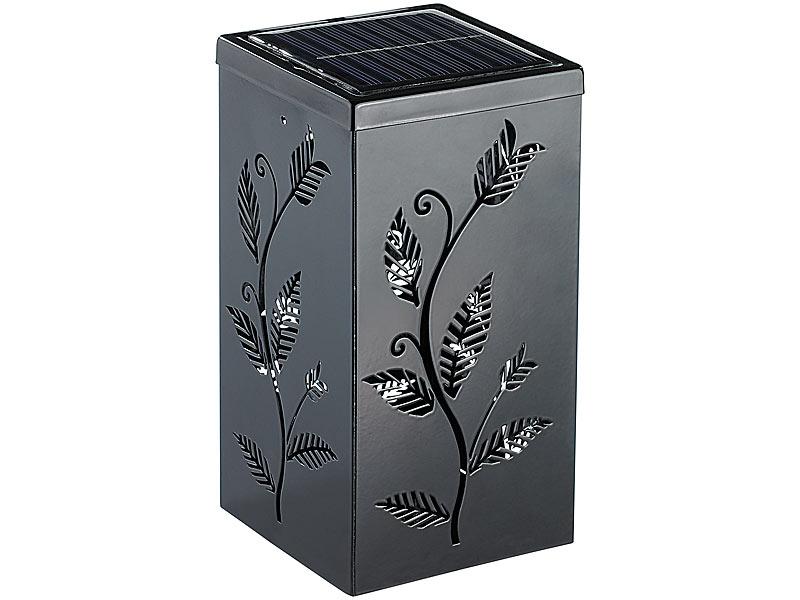 Modne ubrania Czarny ZNICZ SOLARNY, motyw kwiatowy, 2 DIODY LED - 6922748376 AC16