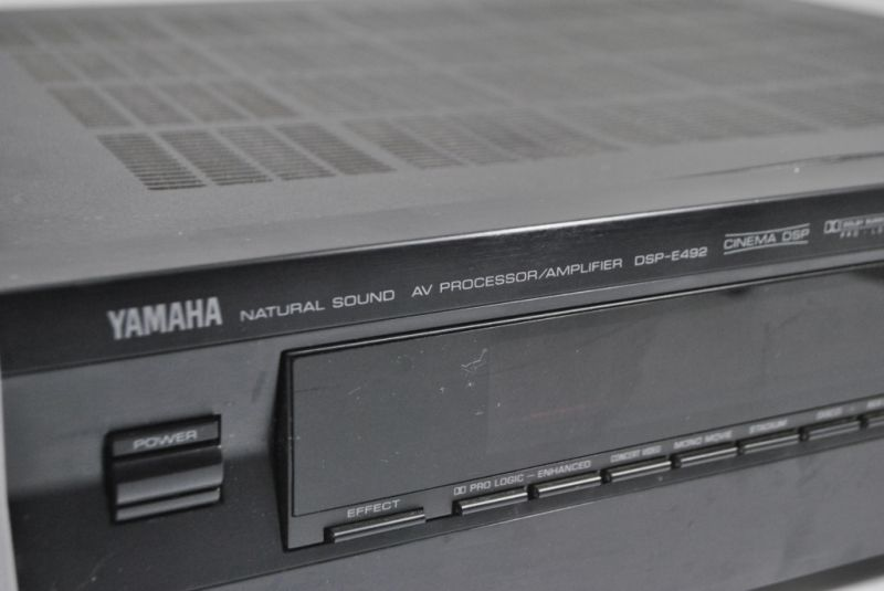PROCESOR DŹWIĘKU YAMAHA DSP-E492