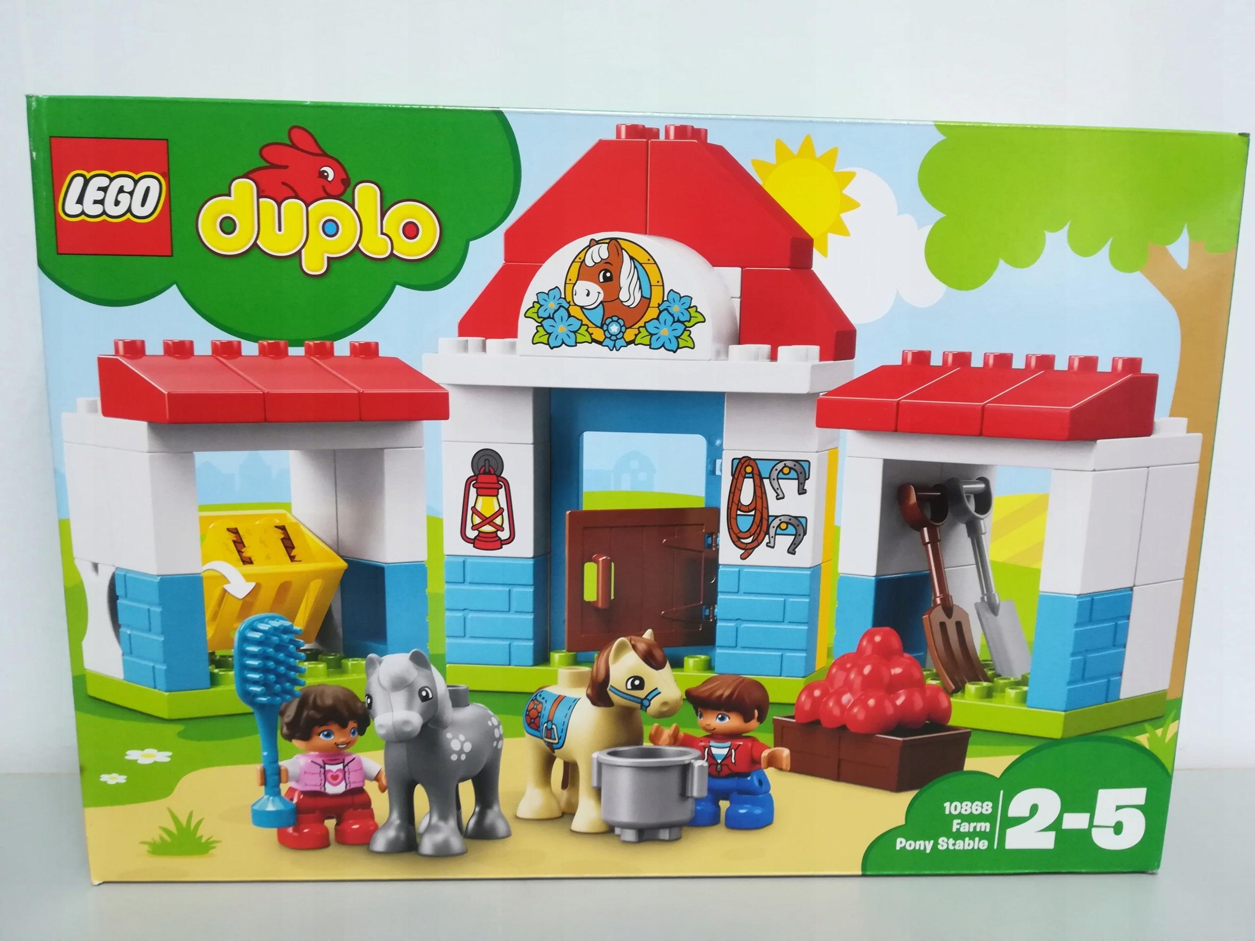 Lego Duplo 10868 Stajnia Z Kucykami T37756 7556476022