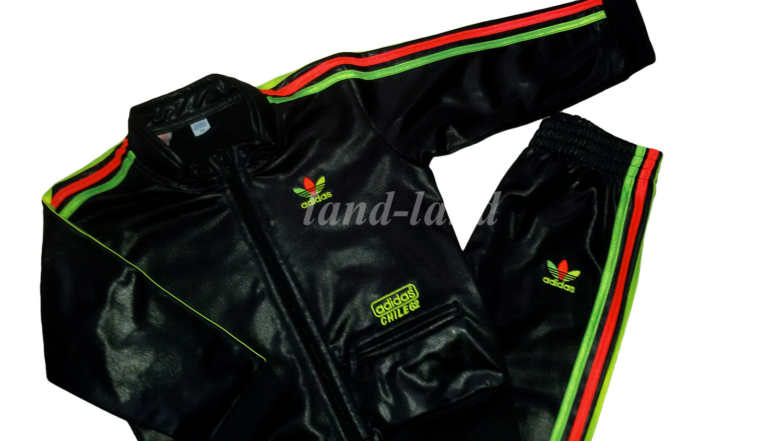 super promocje kody promocyjne na wyprzedaży ADIDAS CHILE62 RASTA czarny dres bluza+ 98/104