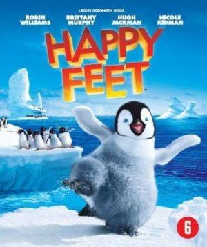 BLU-RAY Animation - Happy Feet Voices/Elijah Wood,