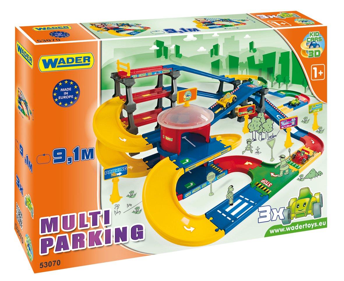 Wader 53070 Kid Cars 3d Garaż 3 Poziomy 91m Wa Wa 7206287007