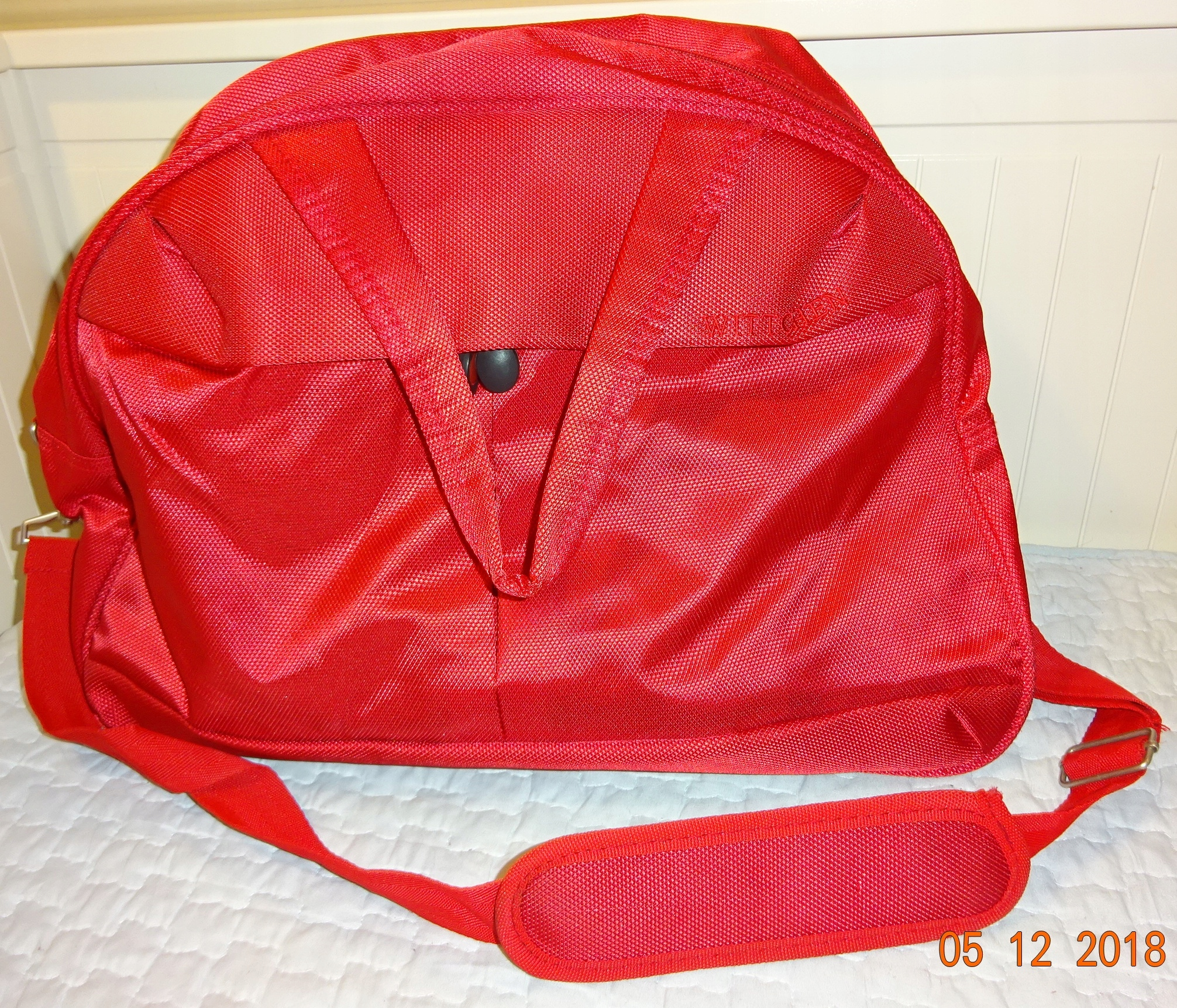 7960588235dcb torba podróżna Wittchen czerwona kosmetyczki - 7709872675 ...