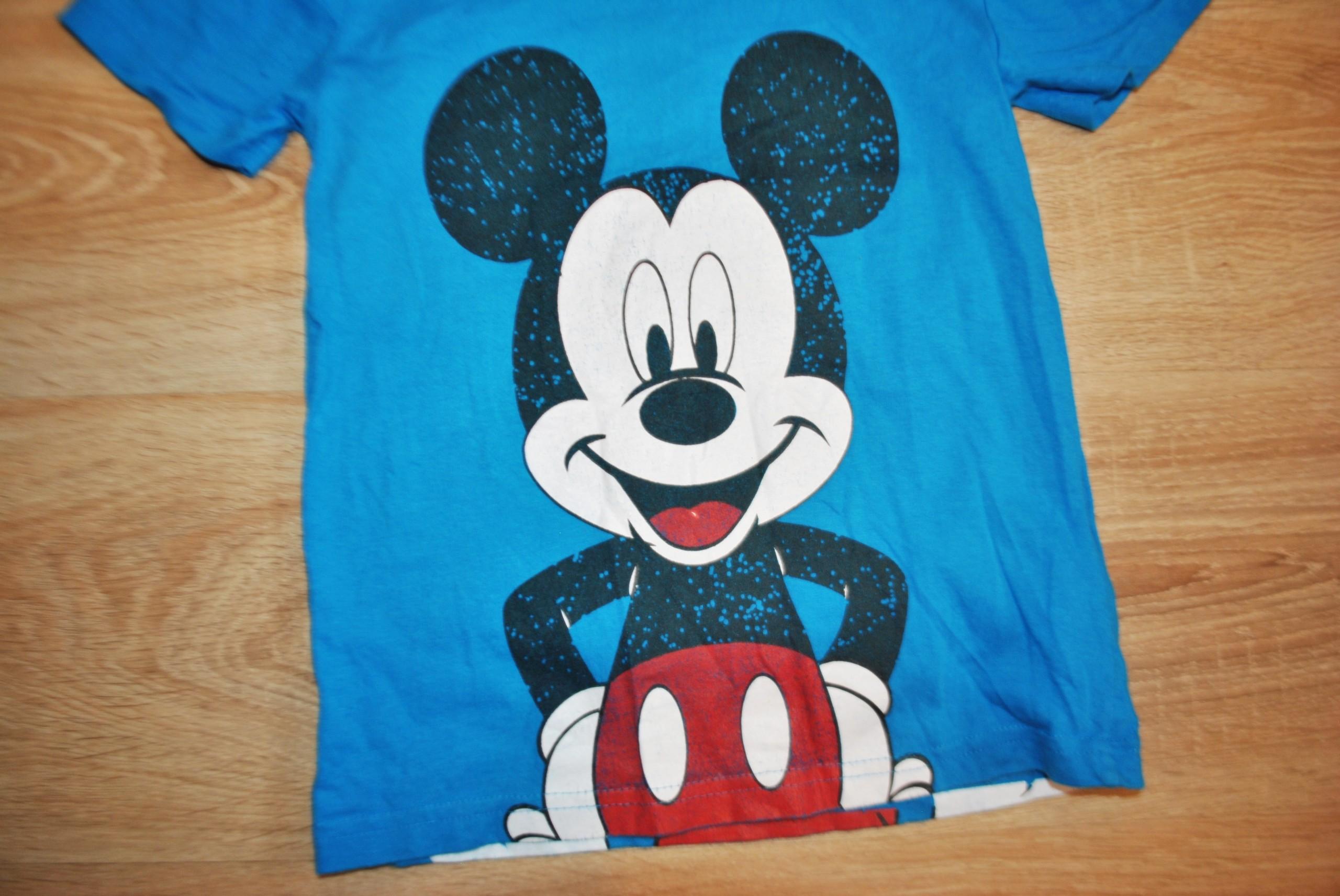 62737fec72058b DISNEY świetna bluzka koszulka MYSZKA MIKI 116 - 7640216217 ...