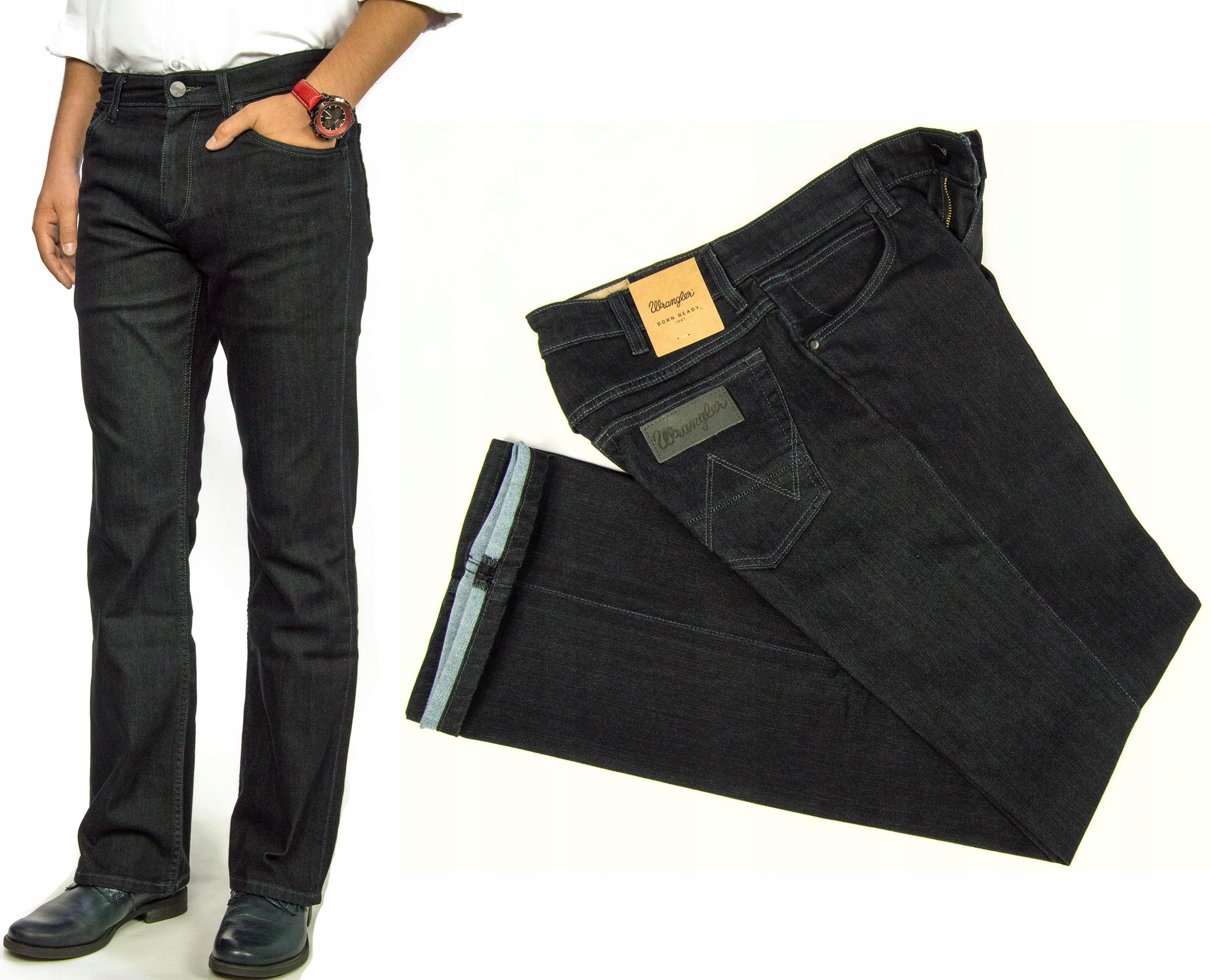 28d4cee670057f Wrangler Jacksville Bootcut spodnie jeansy W32 L34 - 7563976507 ...